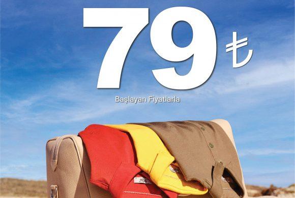 Kiğılı'da 79 TL'den Başlayan Tişört Fırsatı